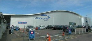 Road closure at Luton Airport